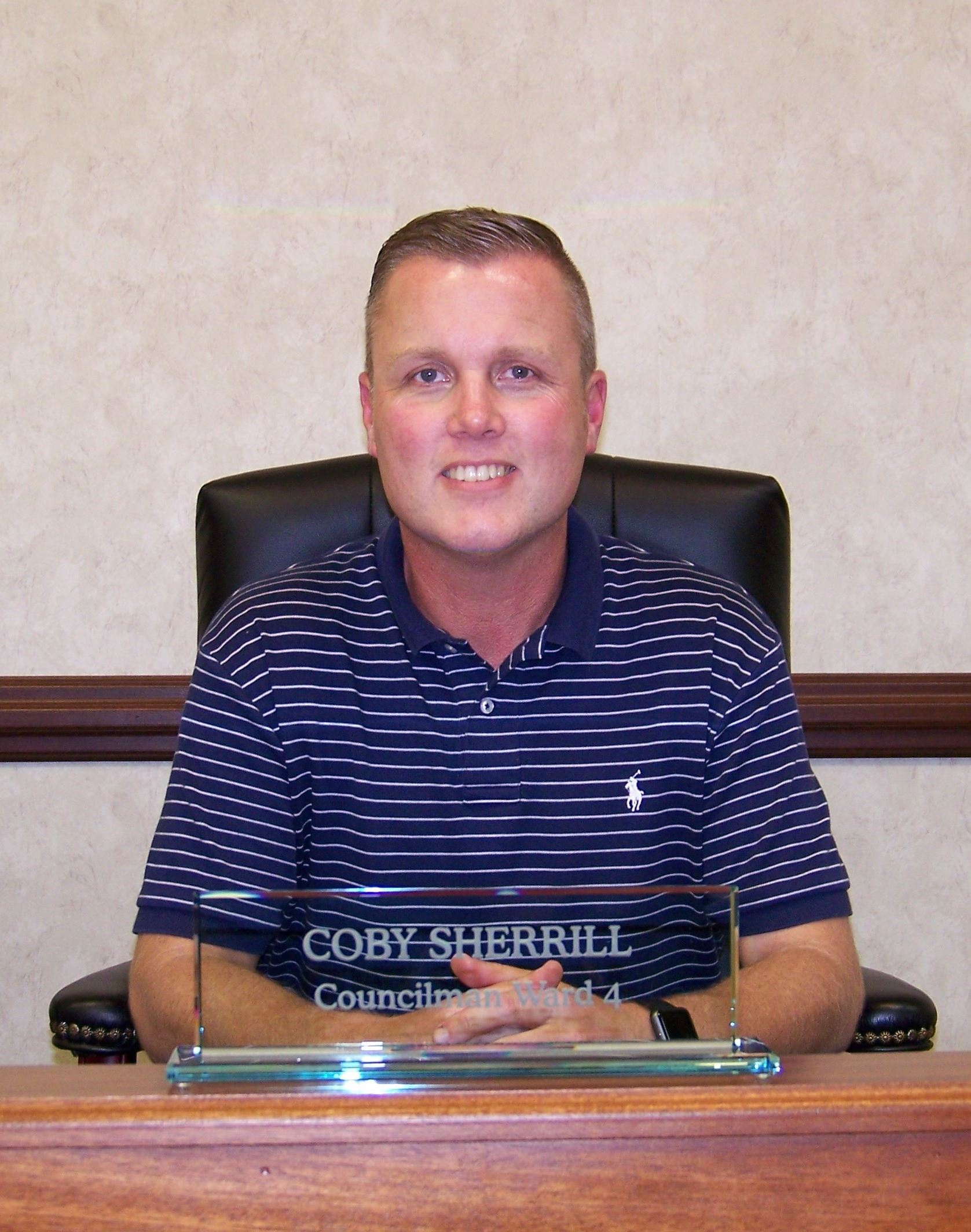 Councilman Coby Sherrill