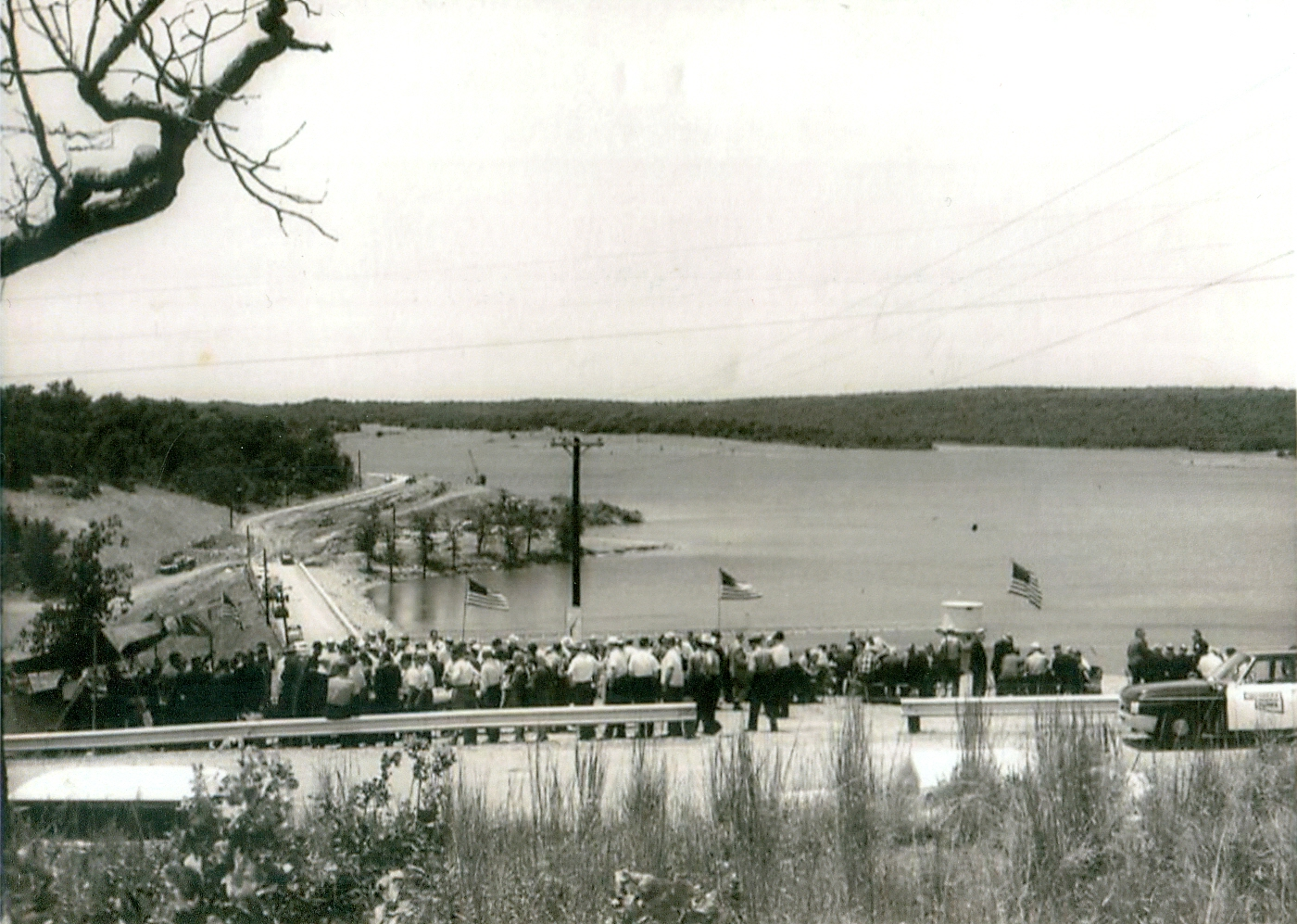 Atoka Lake Dam Dedication